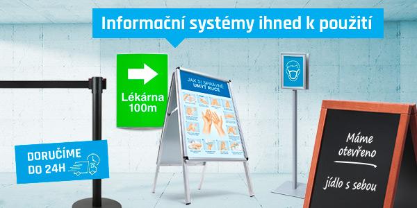 Informační systémy od Jansen Display pro lepší navigaci v obchodech v tomto hektickém období