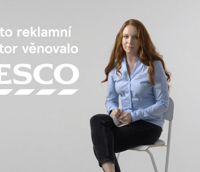 Tesco věnuje reklamní čas Ministerstvu zdravotnictví pro odvysílání informační kampaně
