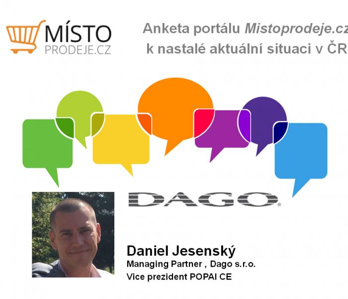 Bude třeba trh přeorientovat více na domácí klientelu, a to nejen v turismu – Daniel Jesenský, Dago