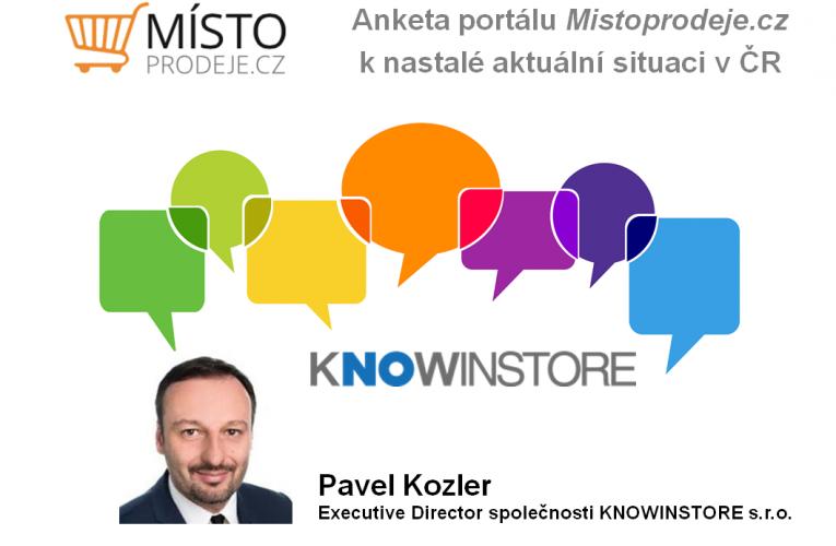 Myslím si, že až dojde ke zrušení restrikcí, tak trh zareaguje pozitivním směrem – Pavel Kozler, KNOWINSTORE