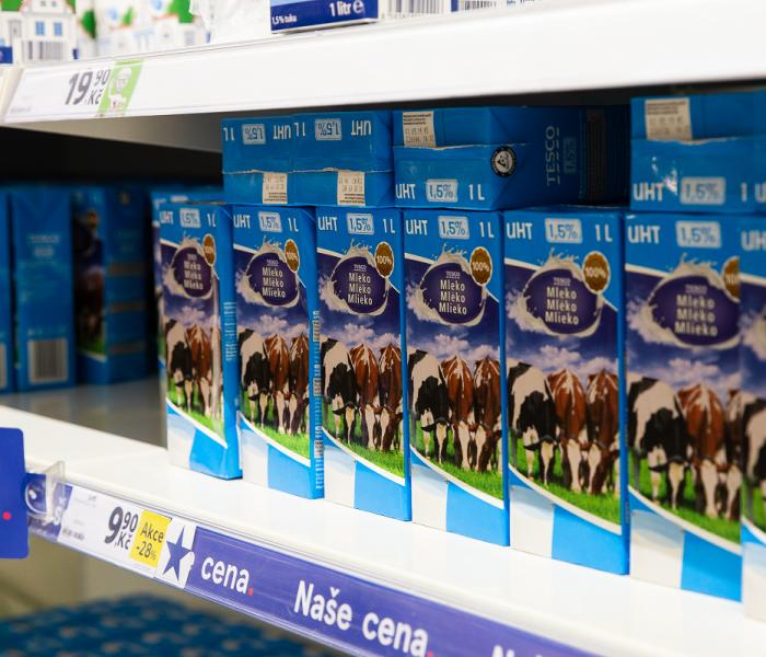 Tesco snižuje ceny základních potravin