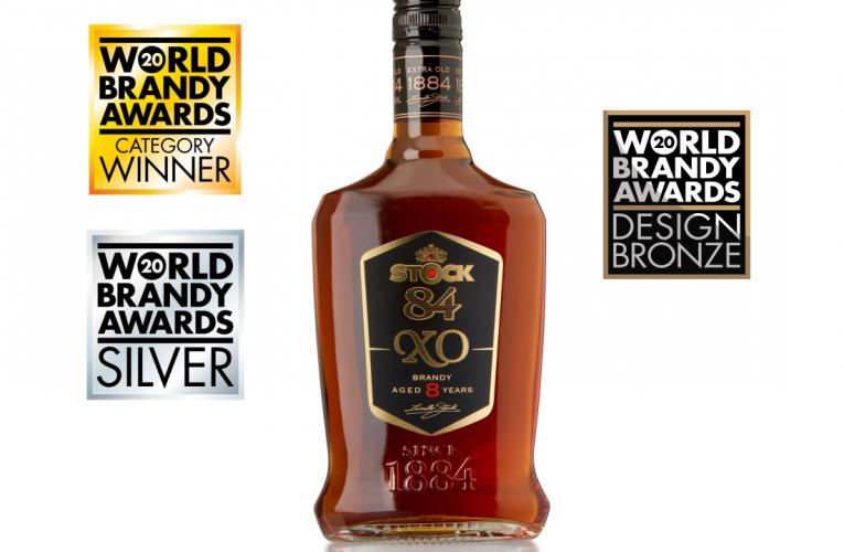 Stock Plzeň – Božkov si včetně zlata v soutěži World Brandy Awards  odnesla za brandy STOCK 84 i další ocenění