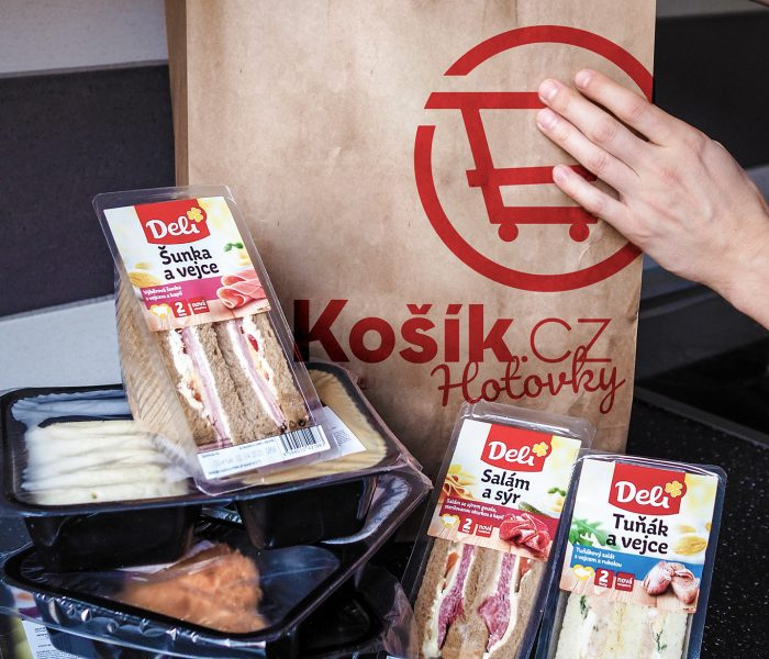 Košík s Hotovkami boduje, prodaluž 11500 jídel