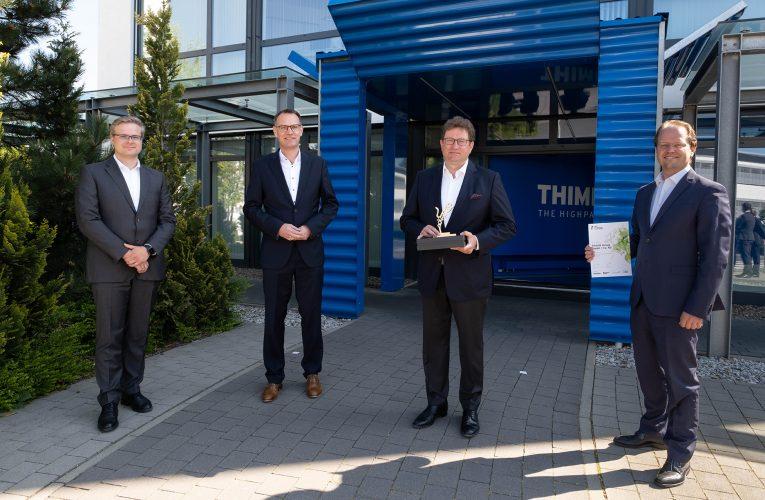 THIMM získává cenu Axia Best Managed Companies Award 2020