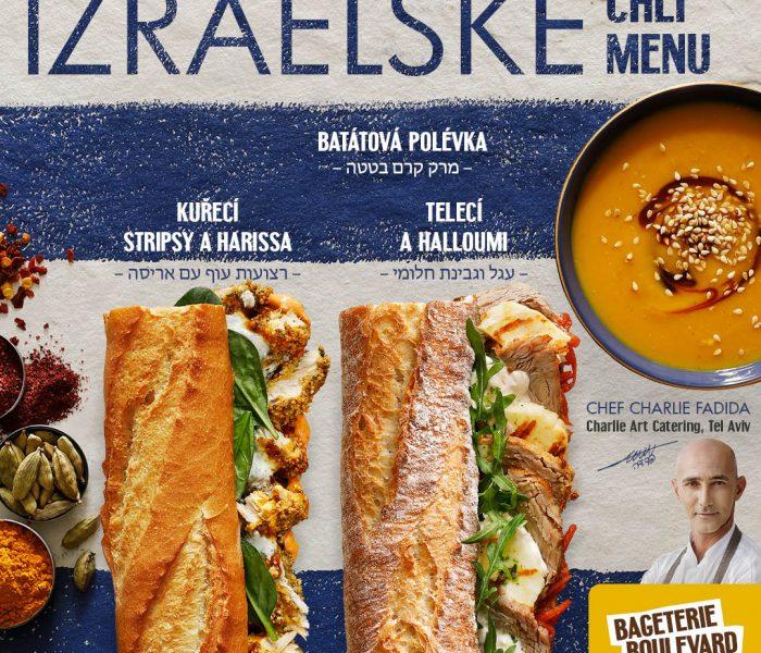 Bageterie Boulevard uvádí nové menu podle známého izraelského šéfkuchaře
