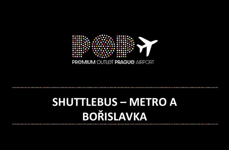 Premium Outlet Prague Airport zavádí kyvadlovou dopravu zcela zdarma