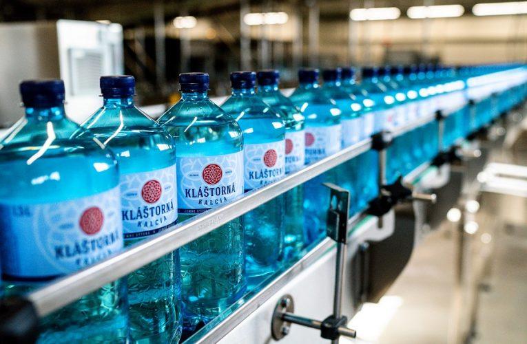 Kláštorná Kalcia – nová minerální voda vdesignovém balení