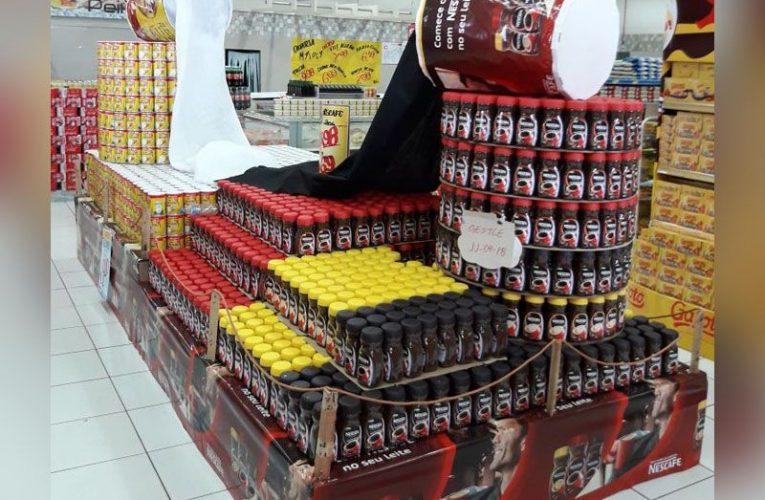 Nepřehlédnutelná brazilská POP realizace na latté