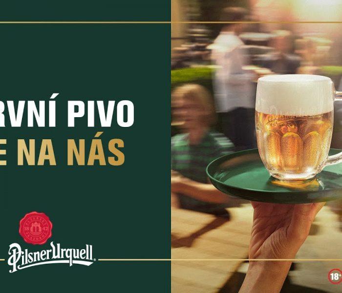 Pilsner Urquell podpoří hospody největší akcí v historii pivovaru