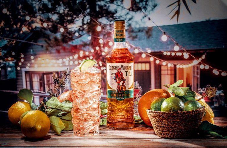 Nový Captain Morgan Tiki míří naproti milovníkům  exotických drinků