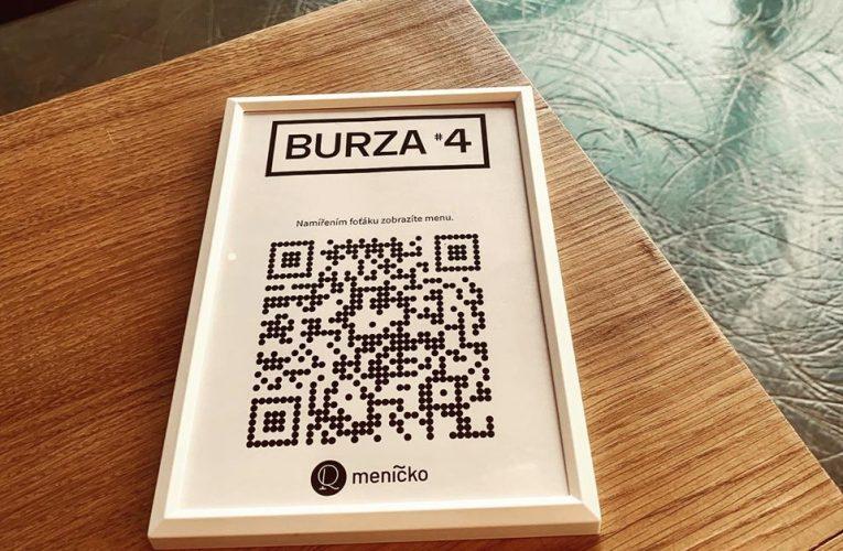 Projekt QR meníčko zdarma nahradí fyzické jídelní lístky v kavárnách a restauracích
