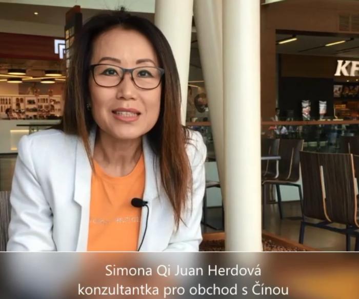 """VIDEOANKETA 39 – Simona Qi Juan Herdová: """"Při obchodování s čínskou firmou je zásadní přátelská atmosféra a příprava."""""""