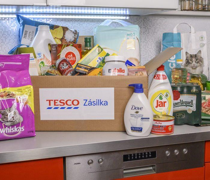 Tesco Zásilka: Tesco nabízí doručení nákupů do všech domácností