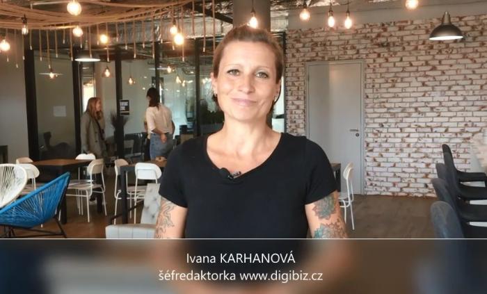 Videoanketa 42 – šéfredaktorka digibiz.cz Ivana Karhanová