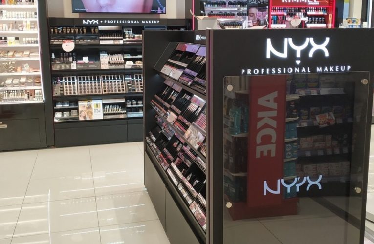 Permanentní shop in shop NYX Professional Make-up
