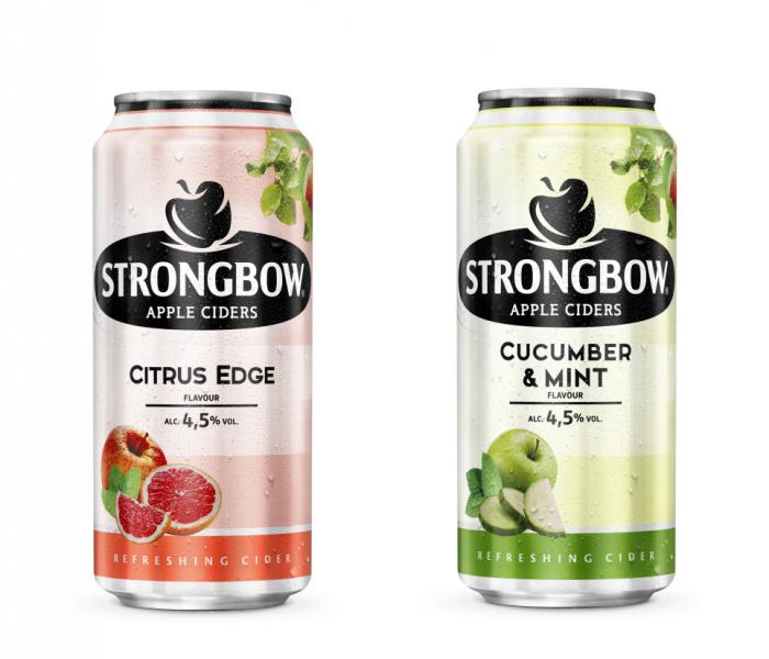 Osvěžte se novými příchutěmi ciderů Strongbow