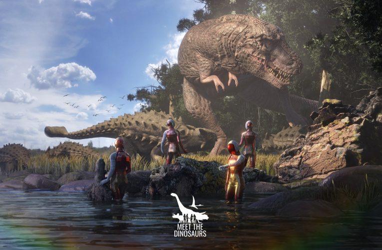 Dinosauři VR zvou na největší virtuální realitu v Evropě do POP Airport