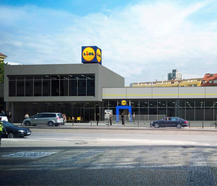 U metra Vysočanská otevře Lidl už 40. prodejnu vPraze