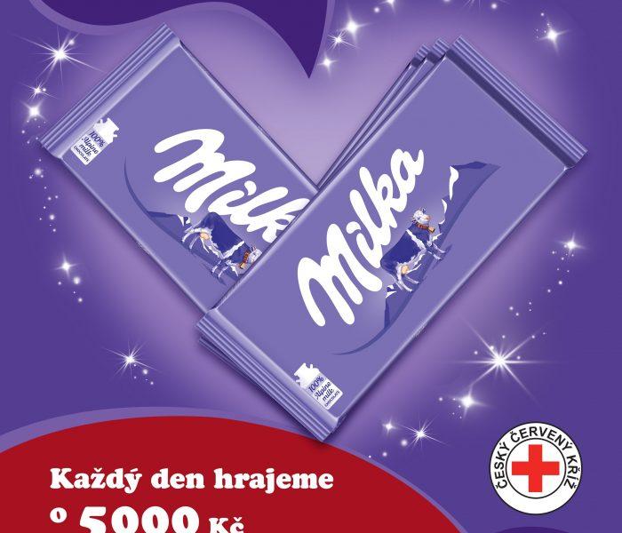 Milka podpoří dětskou léčebnu Českého červeného kříže v Bukovanech