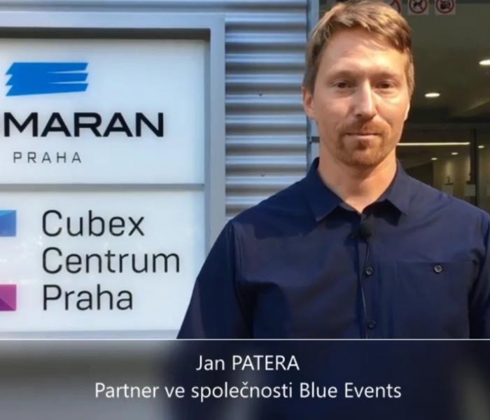 Videoanketa 44 – Jan Patera – Blue Events