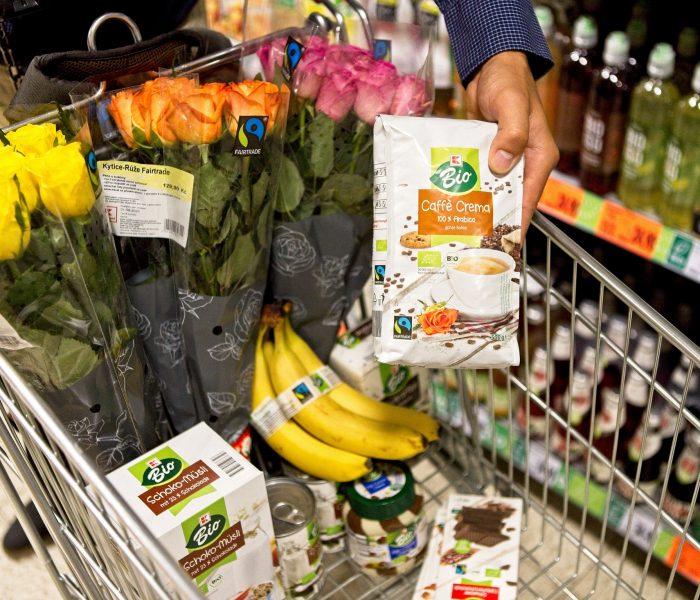 Popularita fairtradových produktů vKauflandu roste