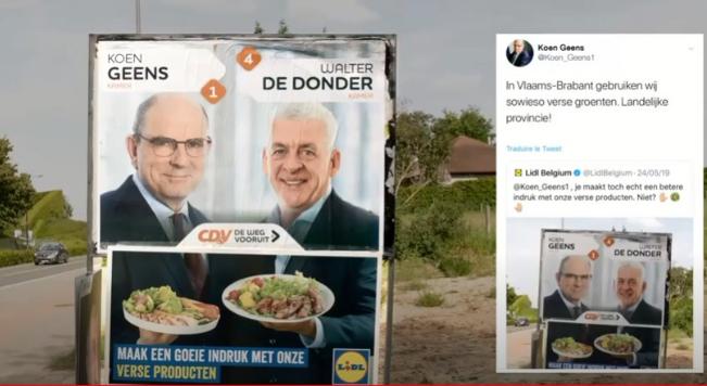 Lidl v Belgii dokonale využil voleb