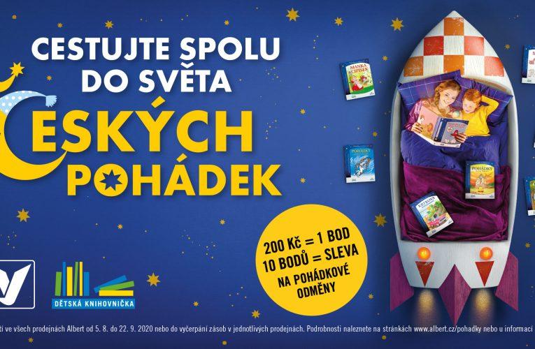 Cestujte se svými dětmi do světa českých pohádek, inspiruje Albert vnové kampani