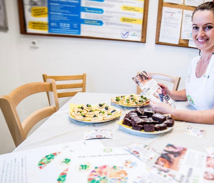 Zdravá 5 poskytuje výživové poradenství a konzultace zaměstnancům Alberta a inspiruje je ke zdravému jídelníčku