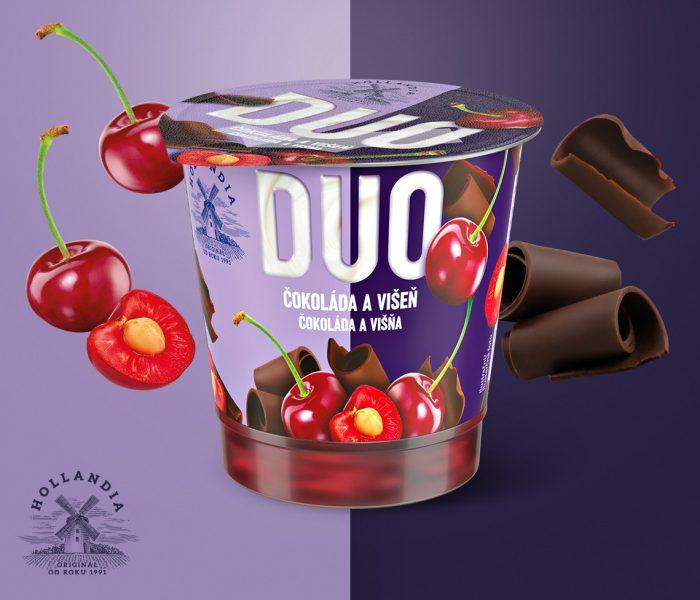 Hollandia s novinkou DUO Dezert míří poprvé mimo segment jogurtů