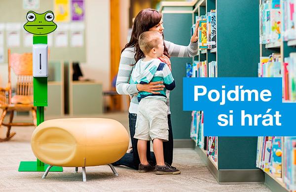 Dětské stojany na dezinfekci od Showdown Displays Europe