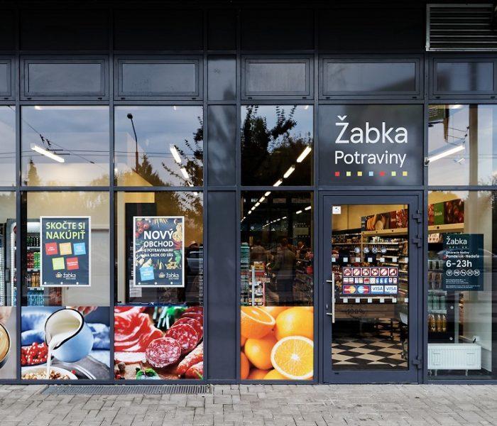 Žabka otevřela první obchod na Slovensku