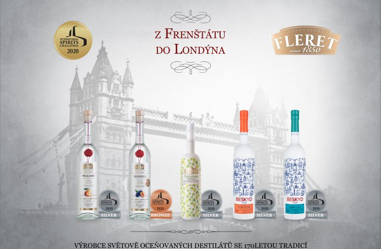České prémiové destiláty Fleret zabodovaly na mezinárodní soutěži vLondýně