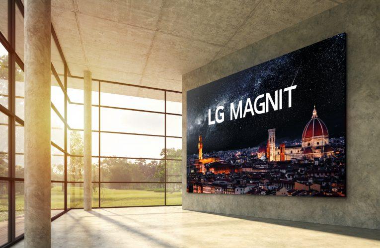 První Micro LED displej od LG nastavuje nový standard technologie komerčních displejů