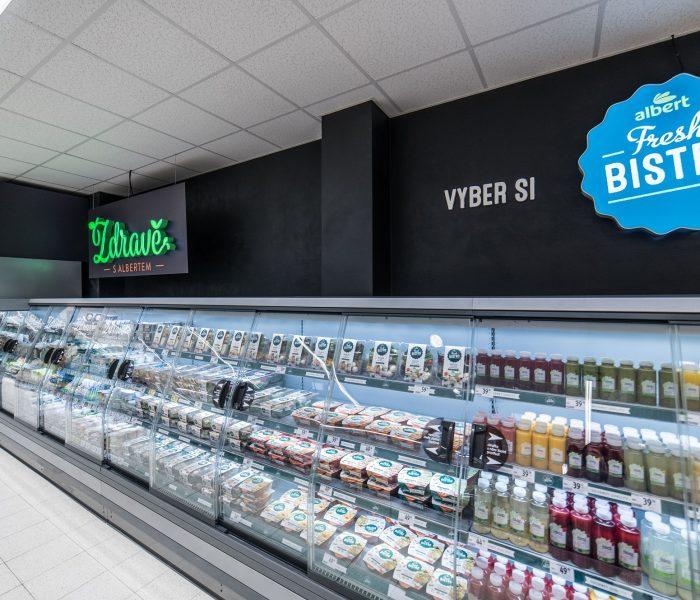 Nový supermarket Albert vpražských Košířích nabízí rychlý a pohodlný nákup