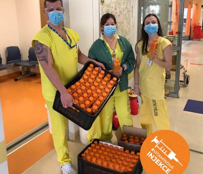 Fruitisimo podpoří zdravotníky vitamínovými drinky
