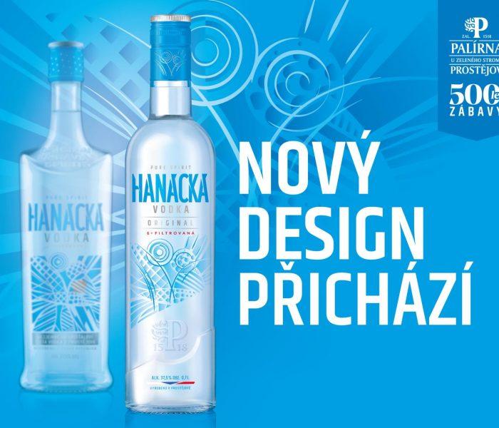Hanácká vodka dostala kulatou láhev