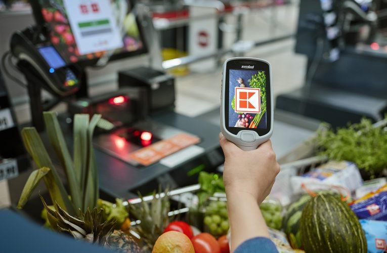 Kaufland zavádí nákup s mobilní aplikací