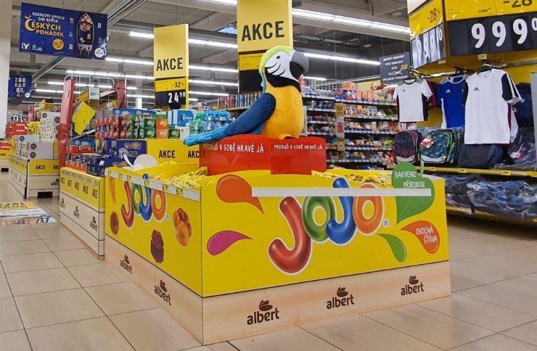 Ocenění POP STAR měsíce září 2020 získala kampaň Paletová vystavení pro cukrovinky JOJO