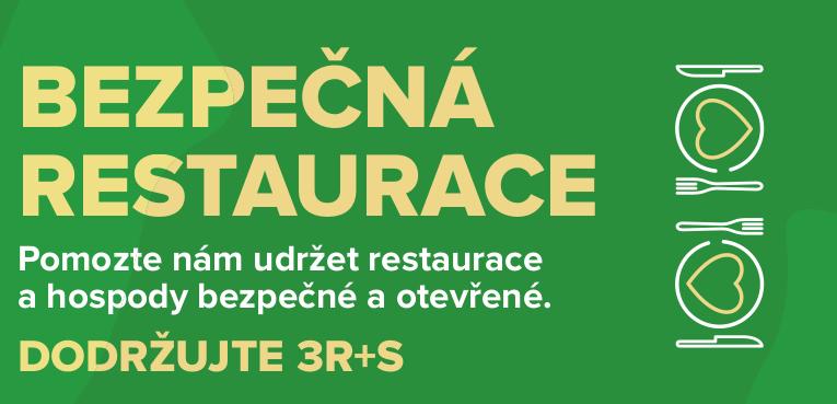Hospody a restaurace zítra otevřou snovými pravidly Bezpečné restaurace