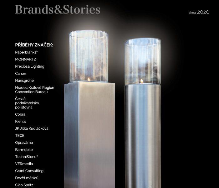 Právě vyšlo zimní vydání B2B magazínu Brands&Stories