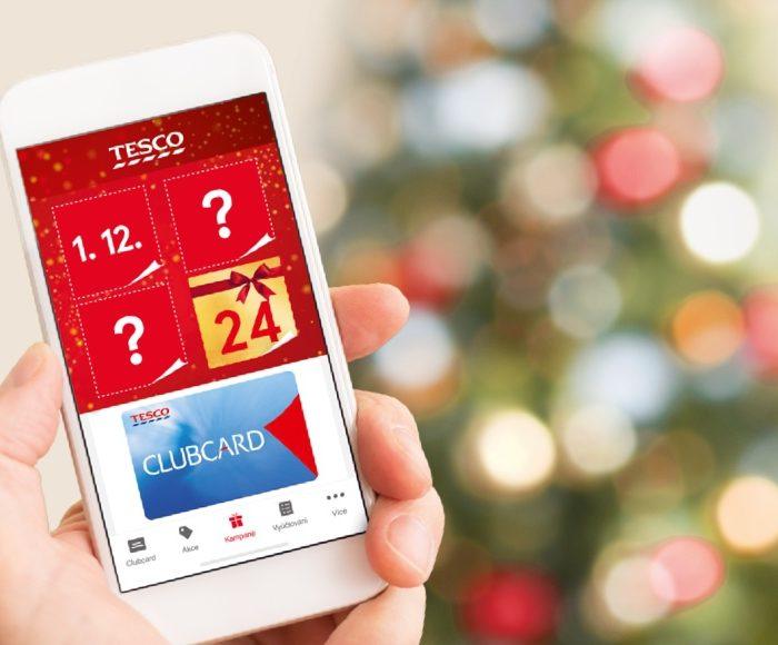 Tesco Clubcard nabízí každý den ve svém adventním kalendáři nové slevy