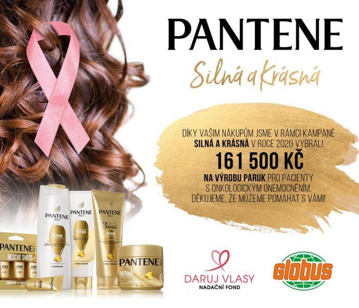 Značka Pantene věnuje nadačnímu fondu Daruj vlasy 161 500 Kč  na výrobu paruk pro ženy, které o své kadeře přišly