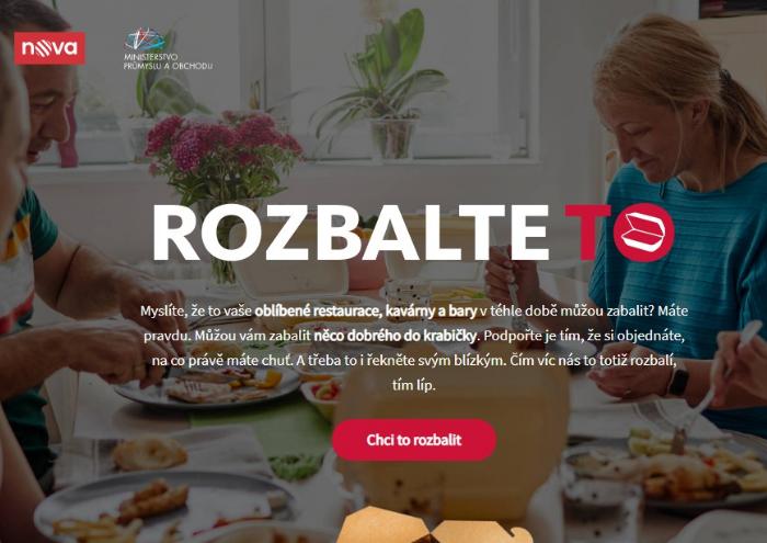 """Kampaň """"Rozbalte to"""" k podpoře restaurací pokračuje novým reklamním spotem"""
