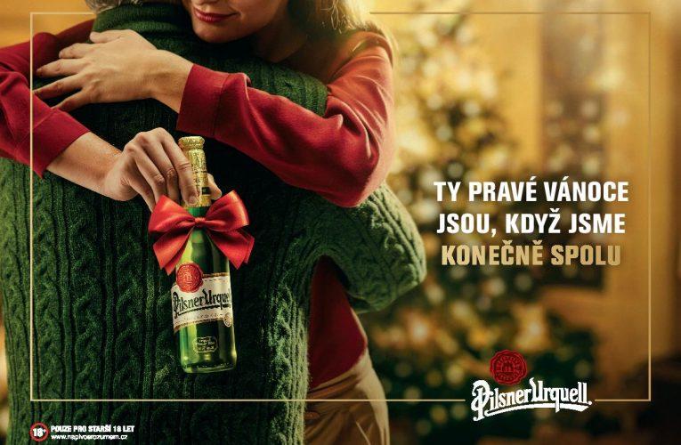 Na český vánoční stůl patří i Pilsner Urquell
