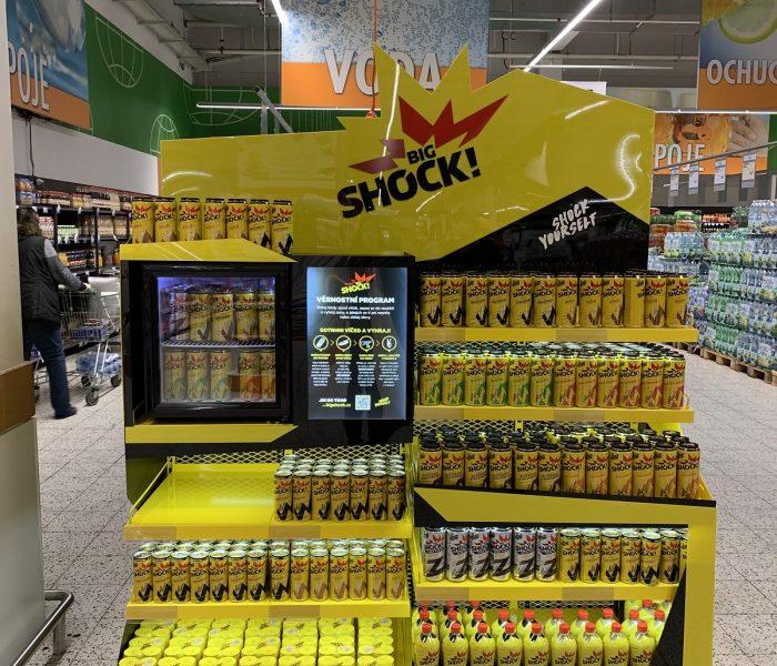 Big Shock vsadil na kreativní nabídku kompletního sortimentu na jednom místě a slaví zvýšením prodejů