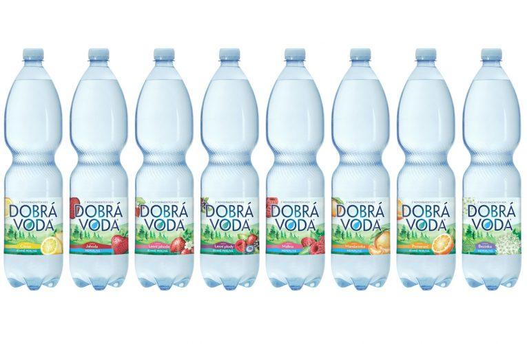 Dobrá voda je třetí značkou Mattoni 1873, která sjednotila barvu PET lahví kvůli lepší cirkularitě