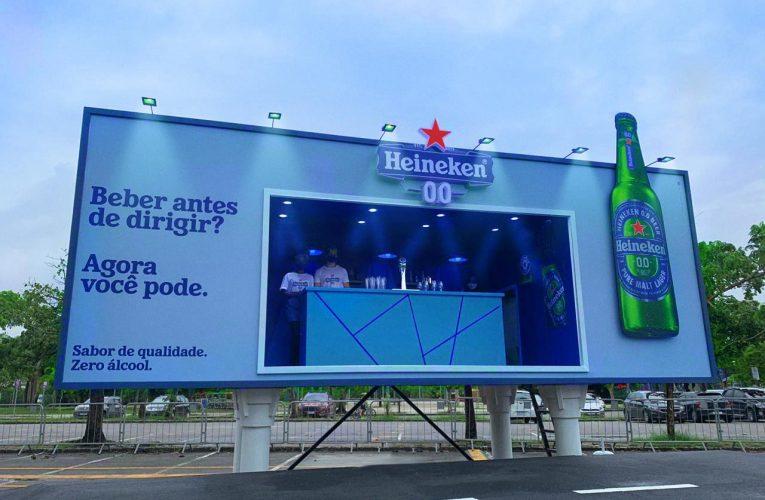 Billboardový bar na Heineken Zero