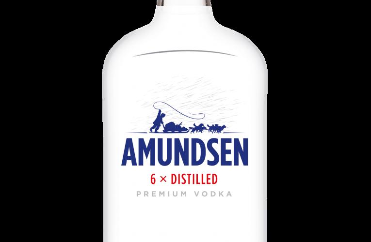 Vodka Amunsen nově v moderním provedení placatky
