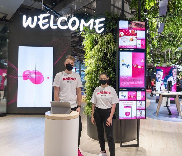 T-MOBILE otevírá v OC Arkády Pankrác unikátní prostor – Magenta Experience Center