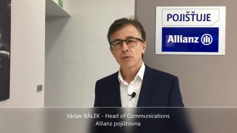 Videoanketa 52 – Václav Bálek, Allianz pojišťovna